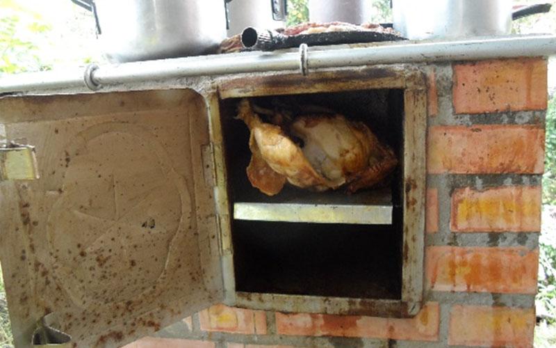 Ejemplo De Alimentos Preparados En La Estufa Eficiente FN.