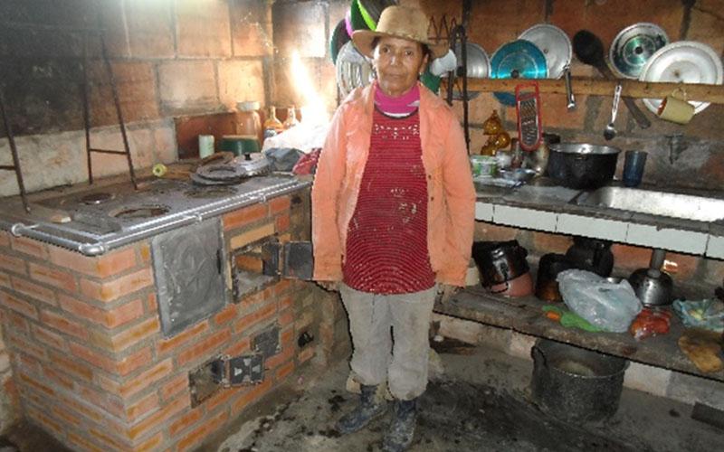 Estufas Eficientes De Leña En Antioquia Y Santander