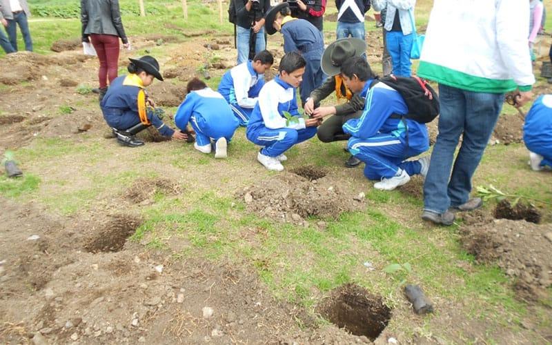Eventos De Sensibilización Con Colegios De Las Zonas Intervenidas