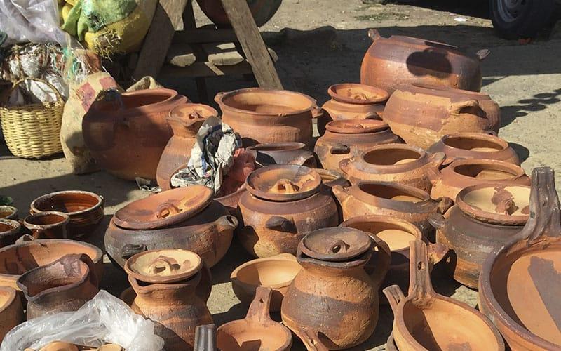 Artesanias En Mercado De Villa De Leyva