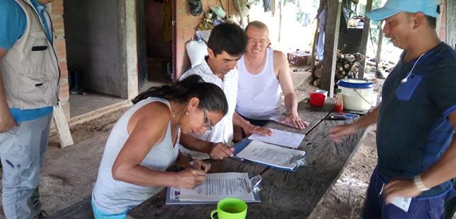 Productores Del Piedemonte Casanareño Firman Los Primeros Acuerdos De Conservación Y Producción Sostenible