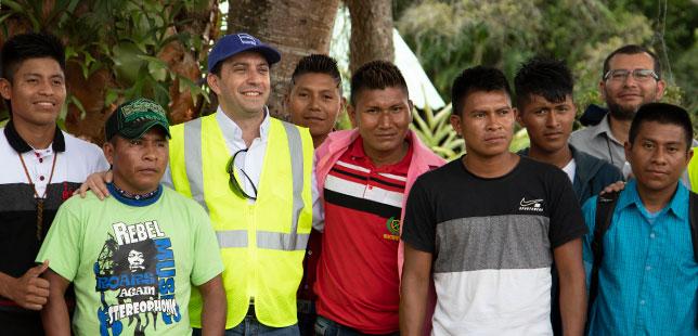 Comunidad Embera Katío Y Técnicos De Fundación Natura Intercambian Saberes