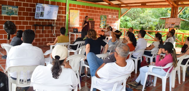 Inicia Proyecto De Investigación Financiado Por La Universidad Nacional En El área De Compensación Ambiental De El Quimbo
