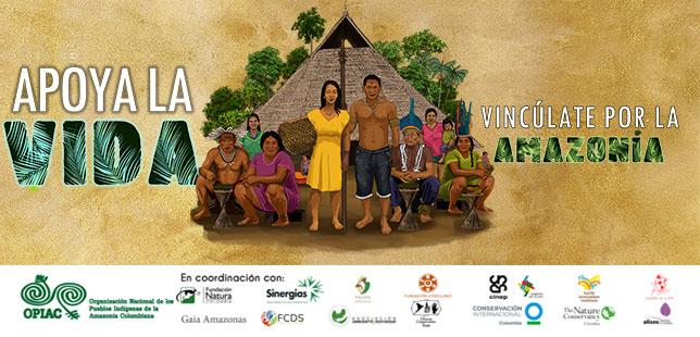 Por La Salud De Los Pueblos Indígenas Amazónicos ¡Apoya La Vida, Vincúlate Por La Amazonía!