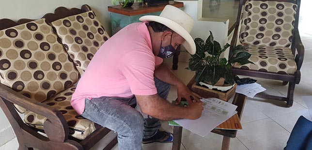 Productores Antioqueños Firman Acuerdos En El Marco Del Proyecto Huella Viva