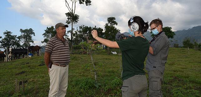 La Organización Francesa Rêv'Earth Documenta Los Procesos Que Fundación Natura Implementa En Los Territorios
