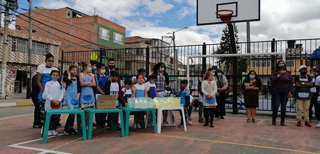 Niños Y Niñas Implementan Soluciones Frente A La Seguridad Alimentaria En Bogotá