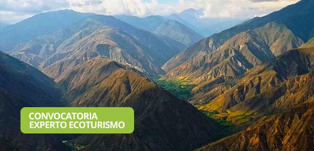 Convocatoria Experto En Elaboración E Implementación De Planes De Ecoturismo