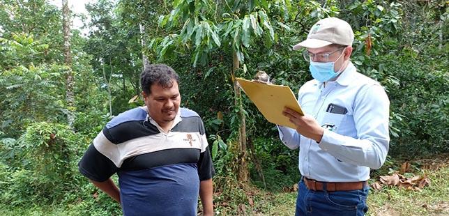 Fundación Natura E ISAGEN Aplican Encuesta De Percepción Climática A Los Agricultores Del área De Influencia De La Hidroeléctrica Topocoro